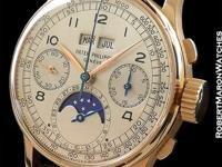 This is a Patek Philippe 1518 Perpetual Calendar