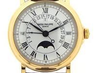 Patek Philippe 18k yellow gold Perpetual Calendar,