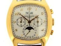 Patek Philippe 18k yellow gold Perpetual Chronograph,