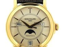 Patek Philippe 18k yellow gold Tiffany T150, automatic,