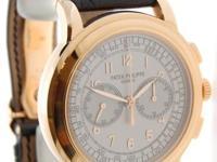 Patek Philippe 5070 18K Rose Gold Chronograph Mens