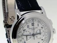 Patek Philippe 5070 18K White Gold Chronograph Mens