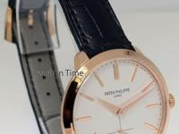 Patek Philippe 5123 Calatrava 18k Rose Gold Mens Watch
