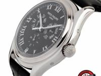 This is a Patek Philippe, Annual Calendar Ref. 5035G