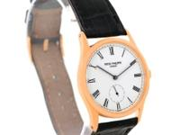 Case: 18k rose gold three-body case 30.5 mm