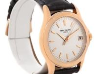 Case: Three-body 18k rose gold case 37.0 mm in