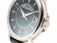 This is a Patek Philippe, Calatrava Ref. 5153G-001