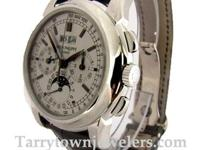Highly desireable Gents Patek Philippe 18K White gold