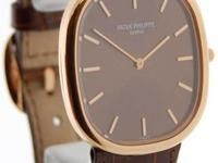 Patek Philippe Ellipse 3738 18k Rose Gold Mens Watch