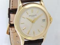 Patek Philippe Mens Calatrava 5107 18k Yellow Gold