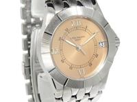 Patek Philippe Mens Neptune Steel Salmon Dial Automatic