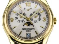 This is a Patek Philippe, Mint Complications Annual