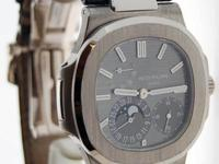 Patek Philippe Nautilus 18k White Gold Mens Automatic
