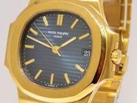 Patek Philippe Nautilus 3800J 18k Gold Automatic Mens