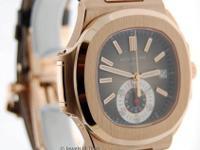 Patek Philippe Nautilus Chronograph 18k Rose Gold