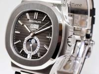 ** Patek Philippe Nautilus Steel Annual Calendar Watch