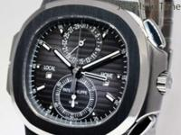 Patek Philippe Nautilus Travel Time Chronograph Steel