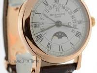 Patek Philippe Perpetual Calendar 18K Rose Gold Mens