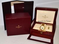 Patek Philippe Perpetual Calendar Bracelet Watch 18k
