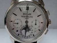 This is a Patek Philippe, Perpetual Calendar