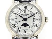 Patek Philippe Platinum Perpetual Calendar Moonphase,