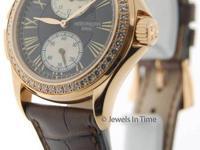 Patek Philippe Travel Time 4934 18K Rose Gold Pearl &
