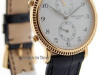 Patek Philippe Travel Time 5034 18K Yellow Gold Mens