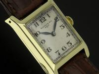 This is a very early men's Patek Philippe. The watch is