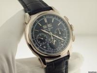 Patek Philippe White Gold Grand Complications Blue Dial