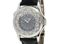 Gents Patek Philippe World Time in platinum, Ref#5110P.
