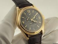 Patek Philippe Yellow Gold Annual Calendar Slate Dial