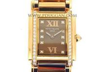 Patek Phillippe 18k rose gold ladies Twenty-4, quartz,