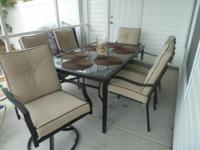 Description Brand new patio furniture bought for our