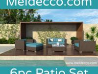 Type: Furniture Meldecco Patio Furniture is a sleek
