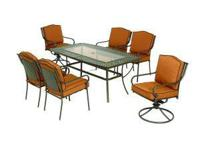 We have patio furniture at deeply discounted prices.