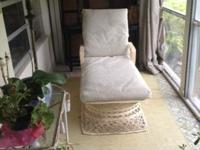Spun Fiberglass Vintage Patio Set 1950s 9 piece set -