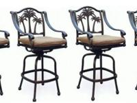 Type: Garden Type: Chairs Palm tree outdoor patio set