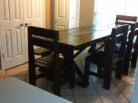 Type: Dining Room Type: Tables New Table build to last