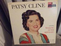 Patsy Cline's Official First LP by Decca Records