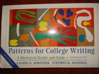 Patterns for College Writing,    A Rhetorical Reader ad