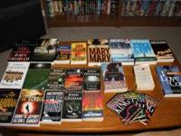 I have the following books for sale: James Patterson: