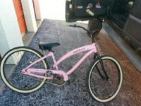 "I have a pink Paul Frank ""The Skurvy Bike"" Nirve"