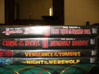 6 MOVIES IN ALL Vengeance of the Zombies(La Rebellion
