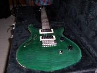 Paul Reed Smith 1996 PRS Custom 24 Emerald Green  with
