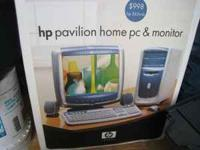 Pavilion Monitor still in plastic never used. Cords and