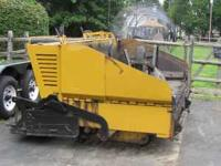 Gelh 1438 paver, runs good, kohler motor,true clean
