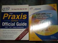 I am selling 2 Praxis Study books for $5. If interested