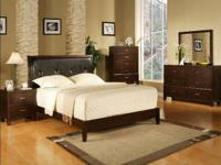 Queen Bed, Dresser, Mirror, Chest & Nightstand ALL FOR