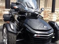 All New 2015 Can-Am Spyder F3, Starting at Only $19499
