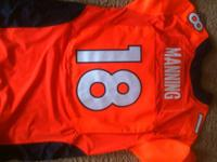 Brand new Payton Manning Jersey NEVER Worn size 48. Was